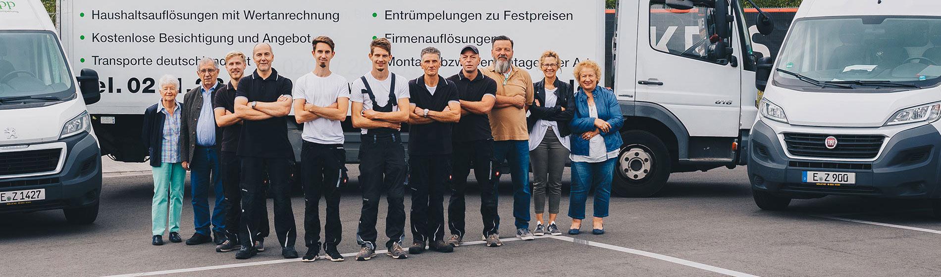 Team Foto Entrümpelung Peter Zupp