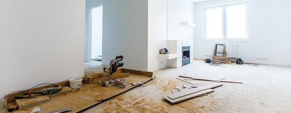 Renovierungsarbeiten nach Entrümpelung in Gelsenkirchen